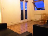 TOP floor 1 Bedroom Flat with roof terrace and separate living room suitable to share