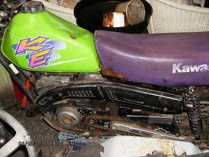 Kawasaki ke 100 dirt bike