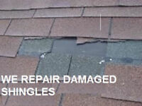 Roof repairs and re-shingling, worn, leaks,wind damage,venting