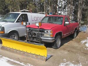 1988 Chevrolet 3/4 Ton Pickups|PLOW TRUCK|4X4|SOLD AS IS