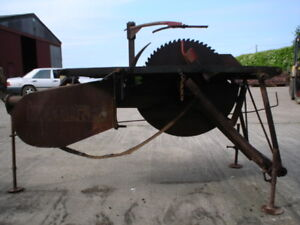 McConnel All-Work Saw Bench, PTO Driven,