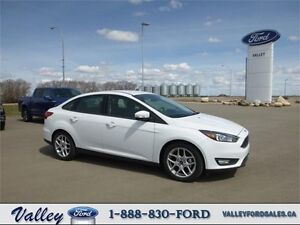 AUTO with HEATED STEERING WHEEL, SEATS, ETC! 2016 Ford Focus SE
