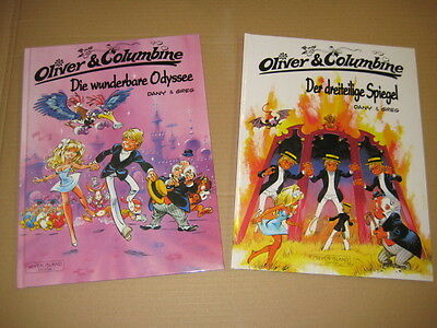 Oliver und Columbine  Band 1 & 7   Dany & Greg  Hardcover