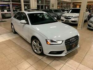 2013 AUDI A4 NAVI PREM PLUS 57K NO ACCIDENT AWD MOON LIKE NEW