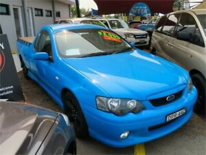 2005 Ford Falcon BA Mk II XR6 Ute Super Cab Blue 4 Speed Sports Automatic Utility