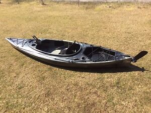 Riot Quest 10 HV angler kayaks instock now in camo or green