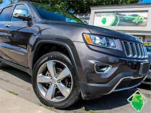 '15 Jeep Grand Cherokee Limited+Nav+4X4+Leather+Roof! $180/Pmts!