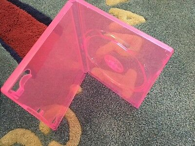 1 14mm New Transparent Pink Single Dvd Case Psd12pink Pp-s14-p Free Shipping