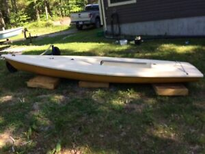 Laser sailboat  - early 80's good cottage boat.