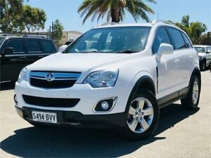 2014 Holden Captiva CG MY15 5 AWD LT White 6 Speed Sports Automatic Wagon Mawson Lakes Salisbury Area Preview