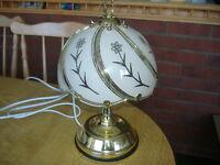 Lloytron Touch Table Lamp Brass Effect