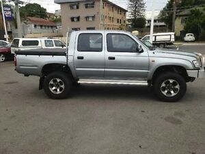 2004 Toyota Hilux VZN167R MY04 Silver Automatic Utility Greenslopes Brisbane South West Preview