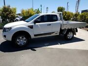 2015 Ford Ranger PX XL Super Cab White 6 Speed Manual Cab Chassis Robina Gold Coast South Preview
