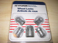 GENUINE HYUNDAI WHEEL LOCKS
