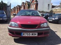 Toyota Avensis 1.8 GS 4dr£595 new clutch at 95000 miles