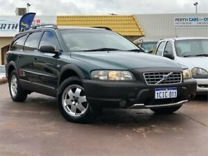 2003 Volvo XC70 Cross Country Green 5 Speed Auto Geartronic Wagon East Victoria Park Victoria Park Area Preview