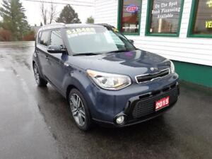 2015 Kia Soul SX Luxury for only $165 bi-weekly all in!