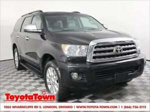 2014 Toyota Sequoia PLATINUM DVD PLAYER NAVIGATION BLIND SPOT MO