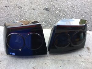2006-08 Charger Original Tail Lights with Black Tint