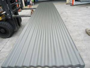 ROOFING IRON WOODLAND GREY CORRO @ 4.8 MTR LENGTHS Jimboomba Logan Area Preview
