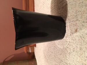 Black Bonded Leather - comes with free garbage bin for desk Kitchener / Waterloo Kitchener Area image 4