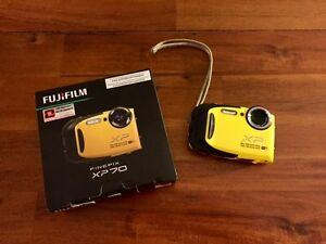 Fuji Finepix XP70 Waterproof Digital Camera