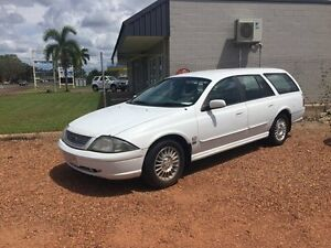 2002 Ford Futura White 4 Speed Auto Active Select Wagon Hidden Valley Darwin City Preview
