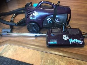Vacuum cleaner available by donation