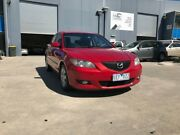 2006 Mazda 3 BK MY06 Upgrade Neo Velocity Red 5 Speed Manual Sedan Newport Hobsons Bay Area Preview