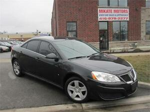 Sporty 2009 Pontiac G6 SE, Sold Fully Certified, And E-Tested