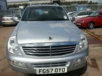 SSANGYONG REXTON 27 SERVICE HISTORY DIESEL SUV 4X4 4WD 57 REG