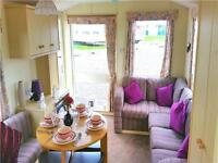 Static caravan for sale 2007 at Sandylands, Saltcoats, Ayrshire