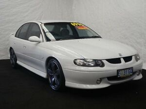 2001 Holden Commodore VX SS Sed V8 Atm 09 White Automatic Sedan Derwent Park Glenorchy Area Preview