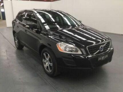 2013 Volvo XC60 DZ MY13 DZ MY13 T5 PWRSHIFT Black 6 Speed Auto Dual Clutch Wagon