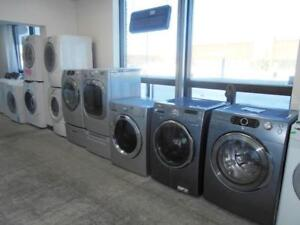 GRANDE VENTE DES LAVEUSES ET SECHEUSES / GREAT SALE OF WASHERS AND DRYERS
