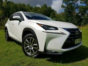 2014 Lexus NX AYZ15R NX300h E-CVT AWD Luxury White 6 Speed Constant Variable Wagon Hybrid Bungalow Cairns City Preview