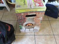 Wood burning Chimenea. New still in box.