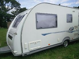 2004 Adria Adiva 532 LT 4 berth single axel touring caravan