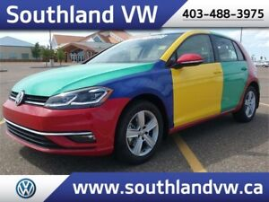 2018 Volkswagen Golf HARLEQUIN **LEATHER-SUNROOF**