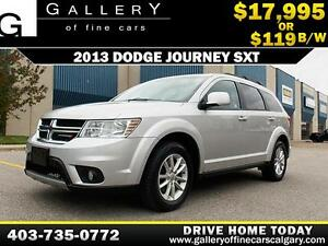 2013 Dodge Journey SXT 7 Seat $119 bi-weekly APPLY NOW DRIVE NOW