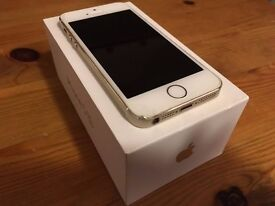 Apple iPhone 5s 16gb Gold in good condition - unlocked to all networks