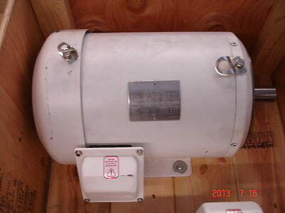 Sterling Electric 10hp C-face Wash Down Motor Dh0102pha 3phase 208-230v 3525 Rpm