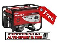 Exclusive to Centennial Auto Sport & Tire **FREE GENERATOR**