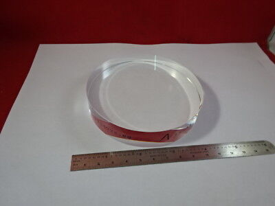 Optical Flat Fused Silica 4 Diameter 110 Wavelength Optics Nice 51-a-21