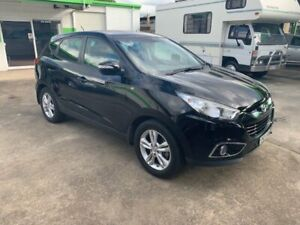 2013 Hyundai ix35 SE WITH LEATHER SEATS Black 6 Speed Automatic Wagon Casino Richmond Valley Preview