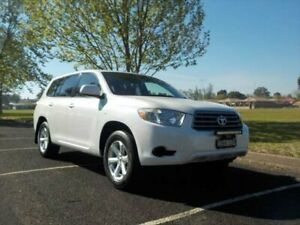 2008 Toyota Kluger GSU40R KX-R (FWD) 7 Seat Pearl White 5 Speed Automatic Wagon