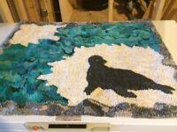 Newfoundland hooked rug