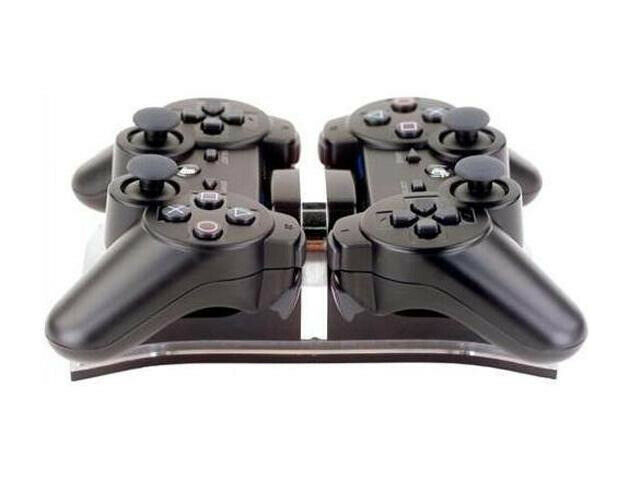 Playstation PS3 dual controller charging station hub, branded Intec product.
