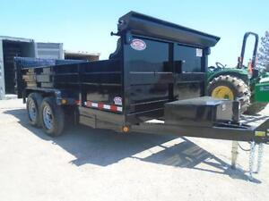 ULTIMATE DUMP TRAILER - 6 TON QUALITY 7 X 12' BED W/COMBO GATE London Ontario image 3