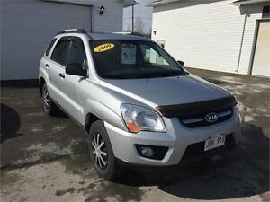 2009 Kia Sportage AWD V6 REDUCED TO $7,995.00